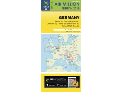VFR CHART 2018 GERMANY & THE NETHERLANDS
