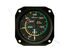 Airspeed Indicator 6FMS421 80mm kmh (6421)