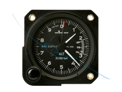 Altimeter 4FGH40 57mm feet (4550)