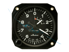 Altimeter 4FGH10 80mm feet (4320)